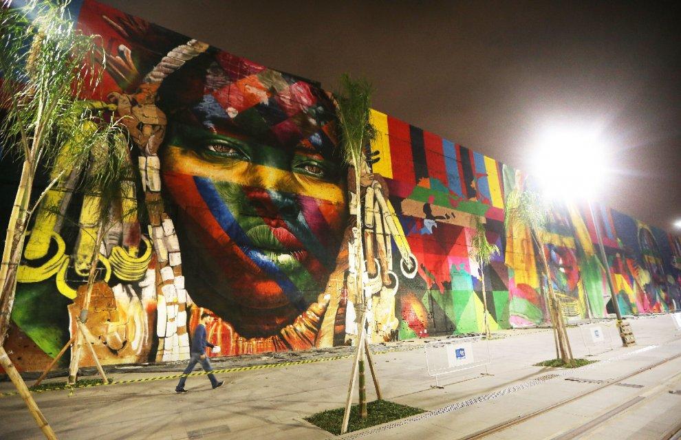 Kobra murales olimpiadi