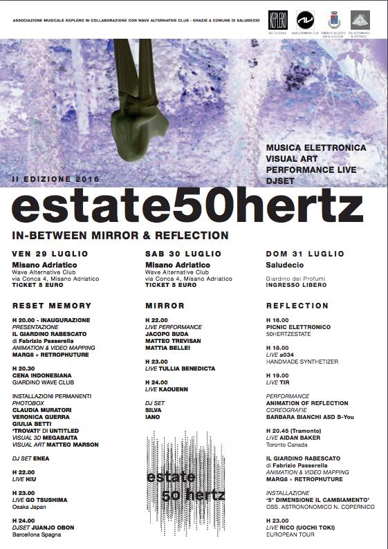 Locandina Estate50Herz 2016