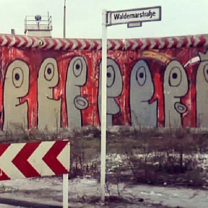 thierry noir muro di Berlino