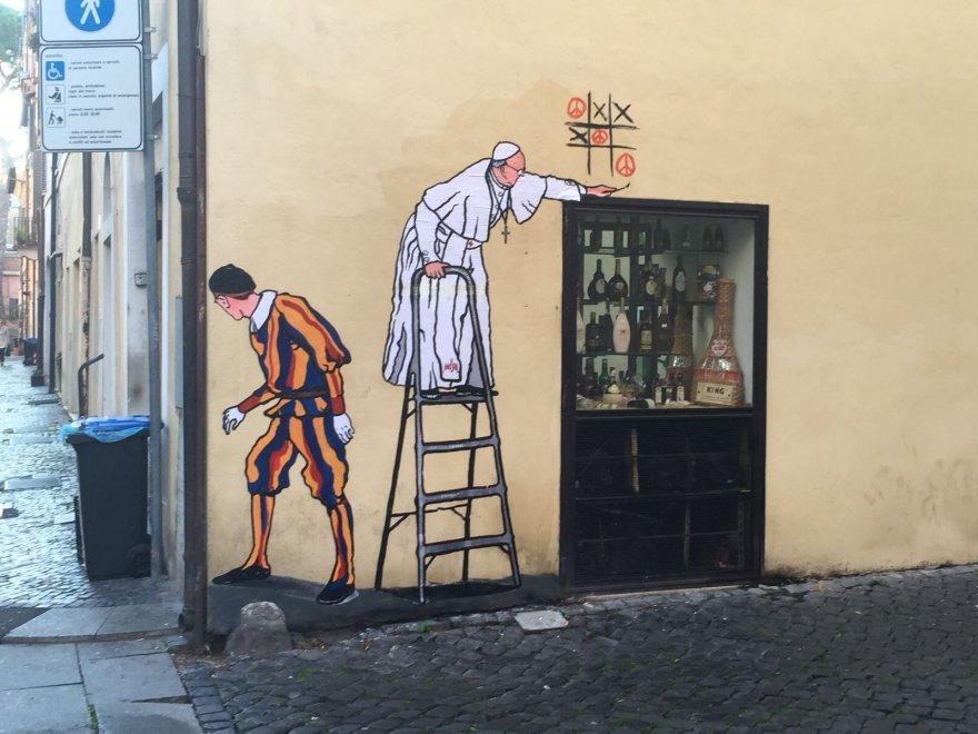 murales Maupas borgo pio