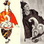 parade - costume di Pablo Picasso