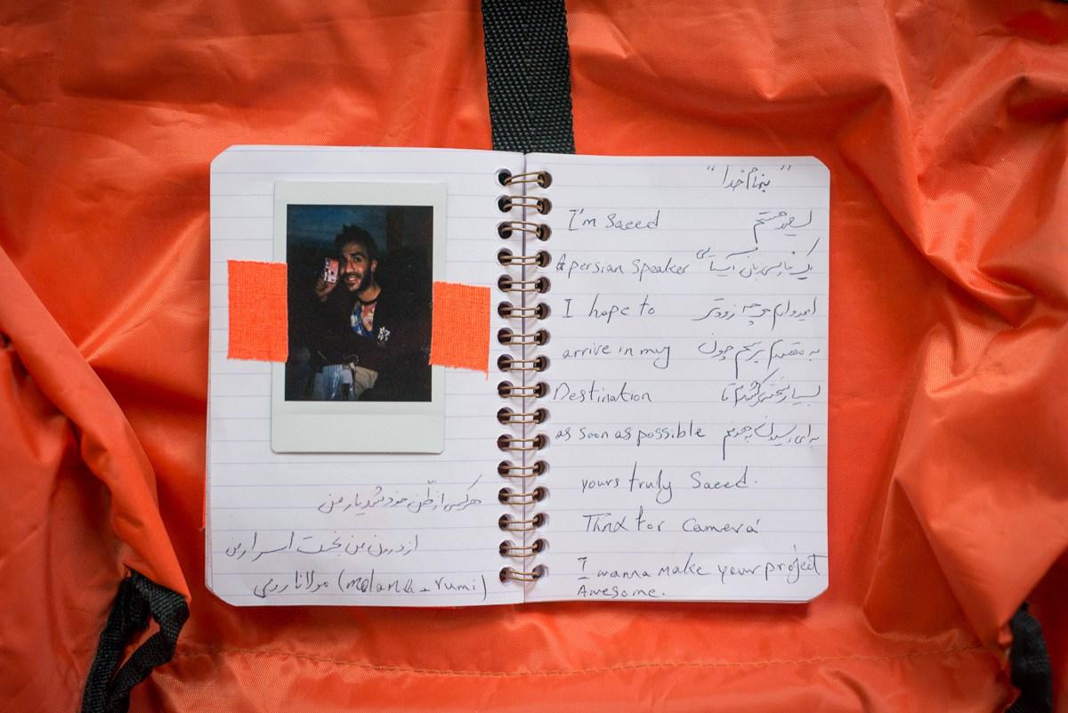 refugee camera