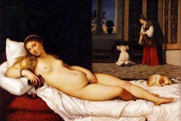 venere di Tiziano a Urbino