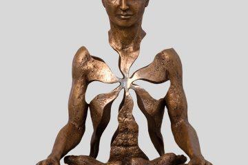 Sunshrine - Sukhi Barber scultura - Credit. sukhibarber.com
