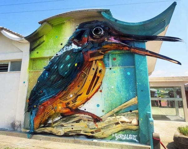 waste art bordalo II