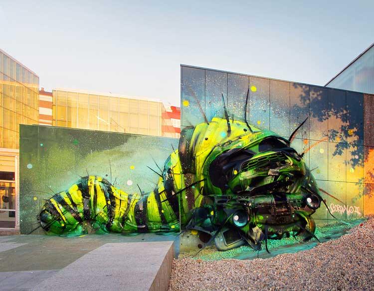 bordalo segundo waste art