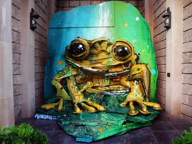 waste art bordalo segundo