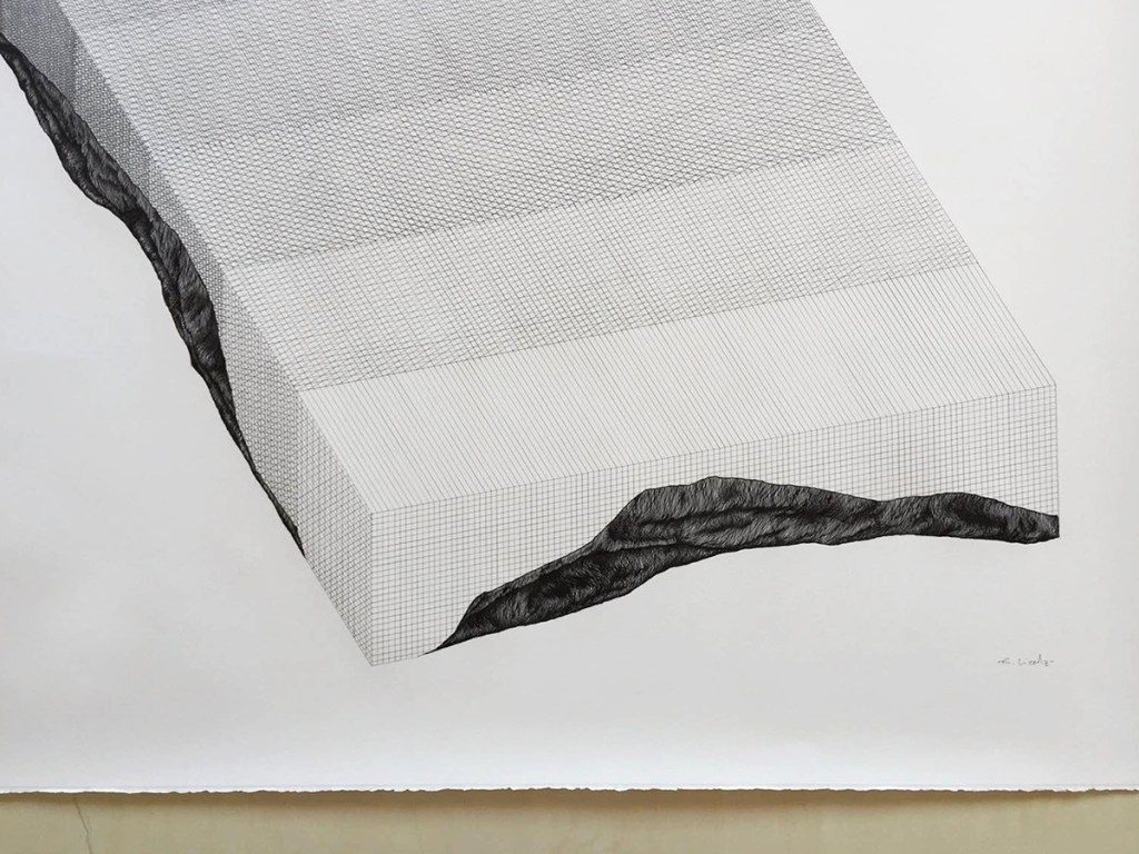 Ciredz - Erosion n. 3 (detail) - 107x117cm