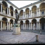 white in the city Pinacoteca di Brera