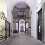 Accademia di Brera white in the city