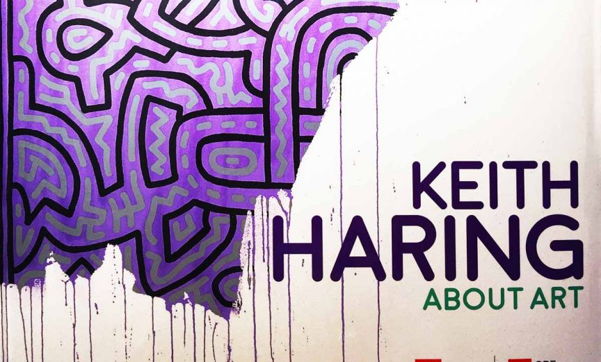 """keith haring palazzo reale milano """"About art"""""""