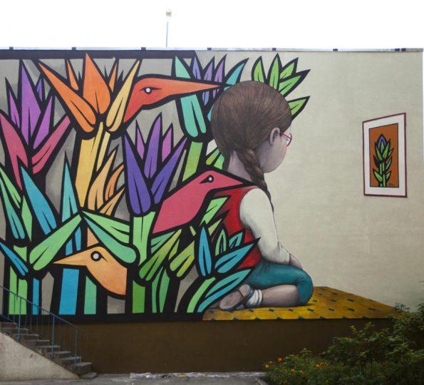 seth e mono murales