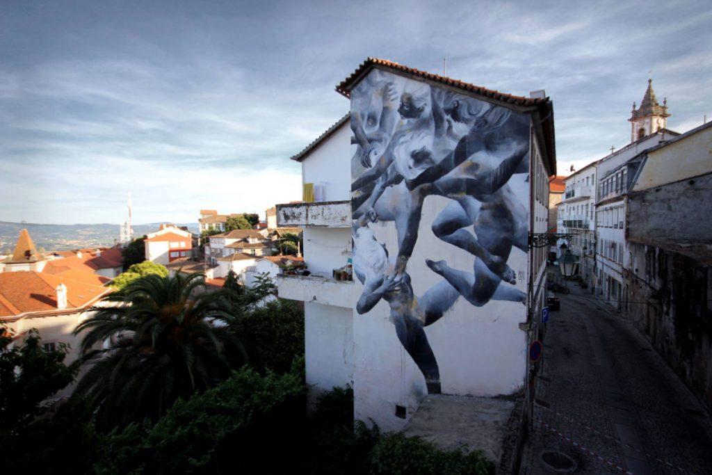 Arebatamento - Covilha -Wool Urban Art Festival 2017