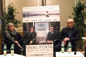 final portrait di stanley tucci