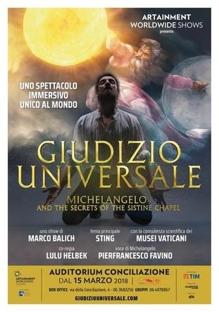 poster giudizio universale spettacolo