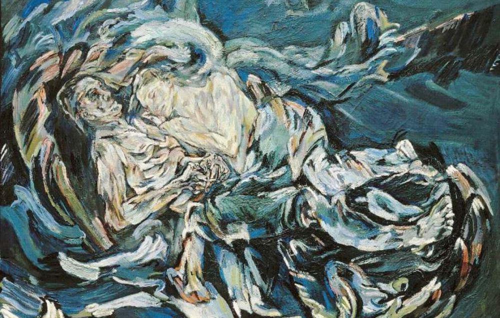 oskar kokoschka la sposa del vento