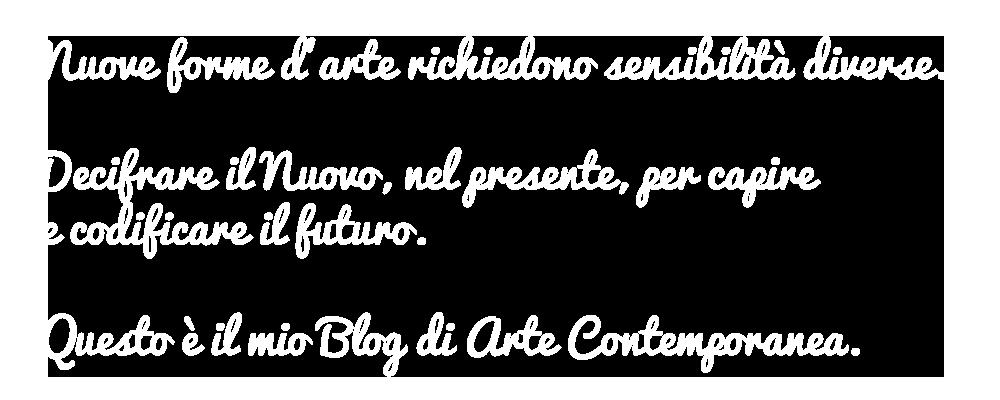blog arte contemporanea
