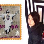 Arte urbana nel francobollo del Vaticano, ma l'autrice Alessia Babrow non lo sa
